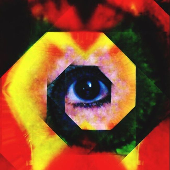 The Good Eye Series Human Eye Vibrant Color For My Friends That Connect Modern IPhoneArtism Geometric Shape This Could Be An Album Cover