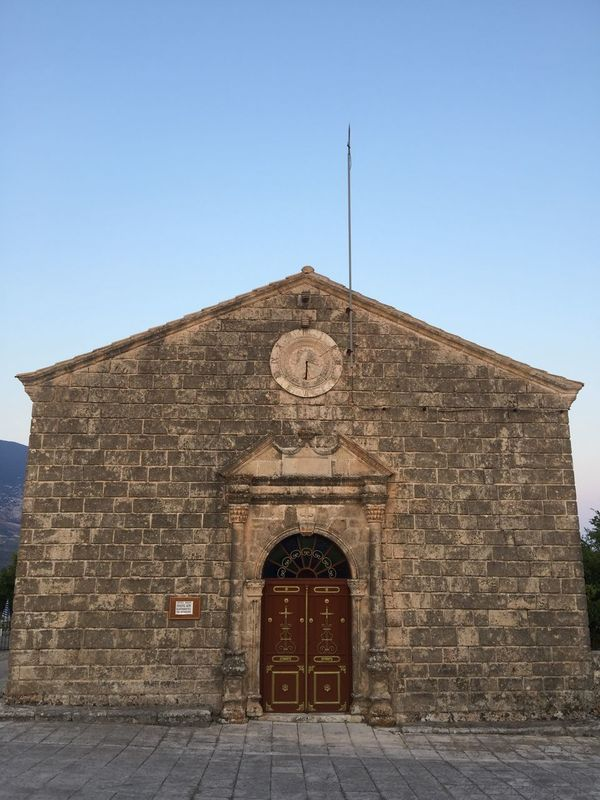 Kefalonia's stones. (4) Greece Photos Kefalonia Island Built Structure Stone Material Architecture History Religion Place Of Worship Spirituality Building Exterior
