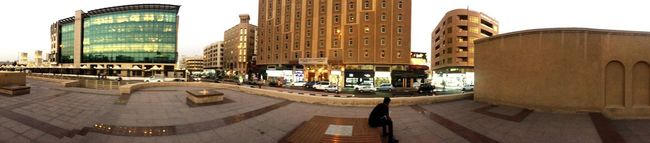 Panorama Panoramic Photography Dubai Dubaimuseum Evening Walk Relaxing Iclick Eye