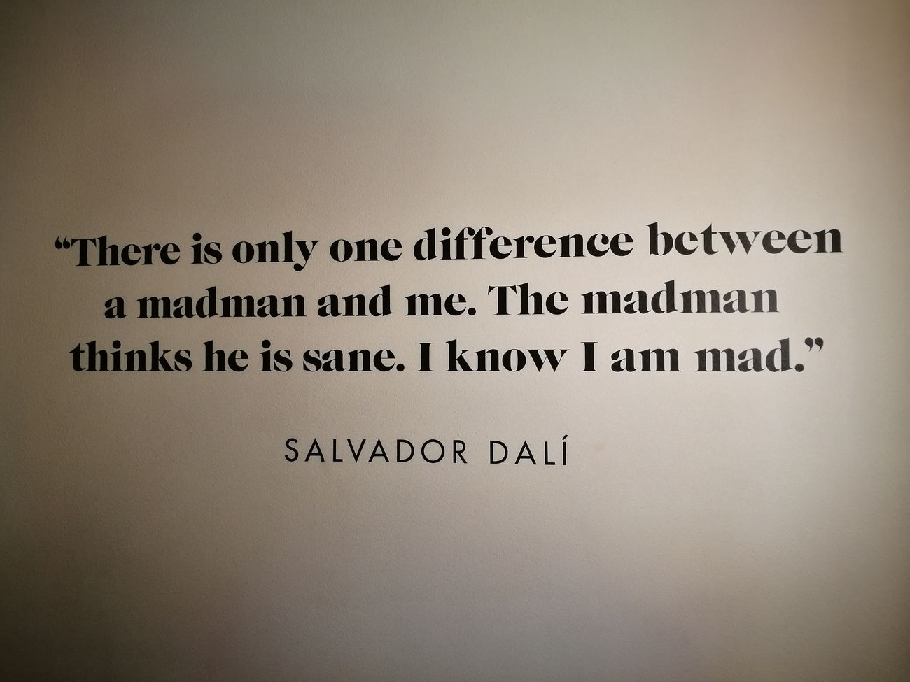 No People Dalí Salvadordali Quote Quotes♡ Quote Of The Day  Madness Art