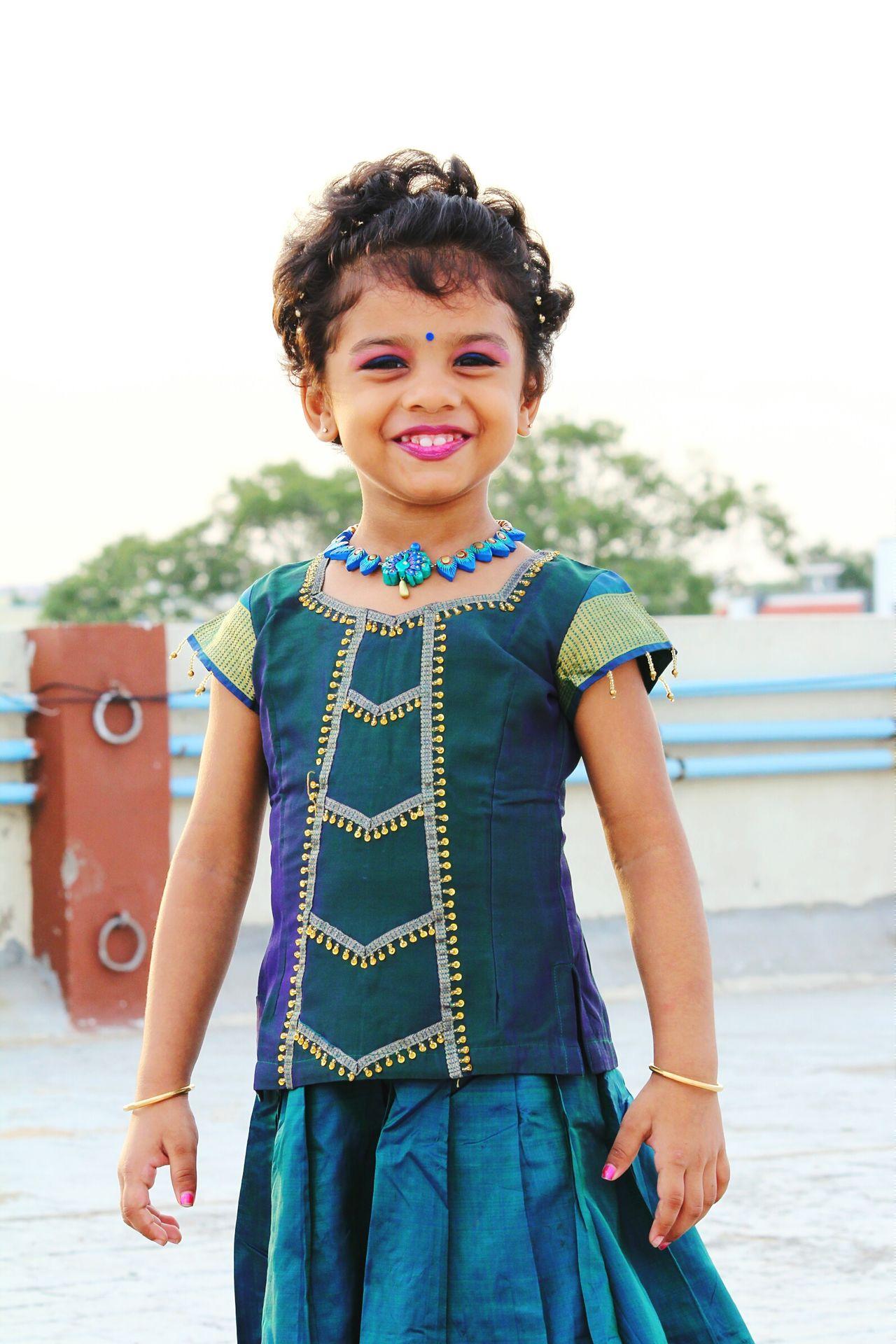 Kidsportrait Kidsphotography Mayuriterracotta Handmade Jewellery Indiankids Indiangirl Traditional Clothing Indiandress Ethnicwear Ethnic Terracotta Jewellery.. Terracotta Handmade By Me Handmadewithlove Childmodel