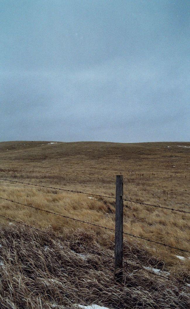 Landscape Film Photography Kodak200 Kodak Film Buyfilmnotmegapixels I Shoot Film Southern Saskatchewan Fences Overcast Skies Farmland Pasture