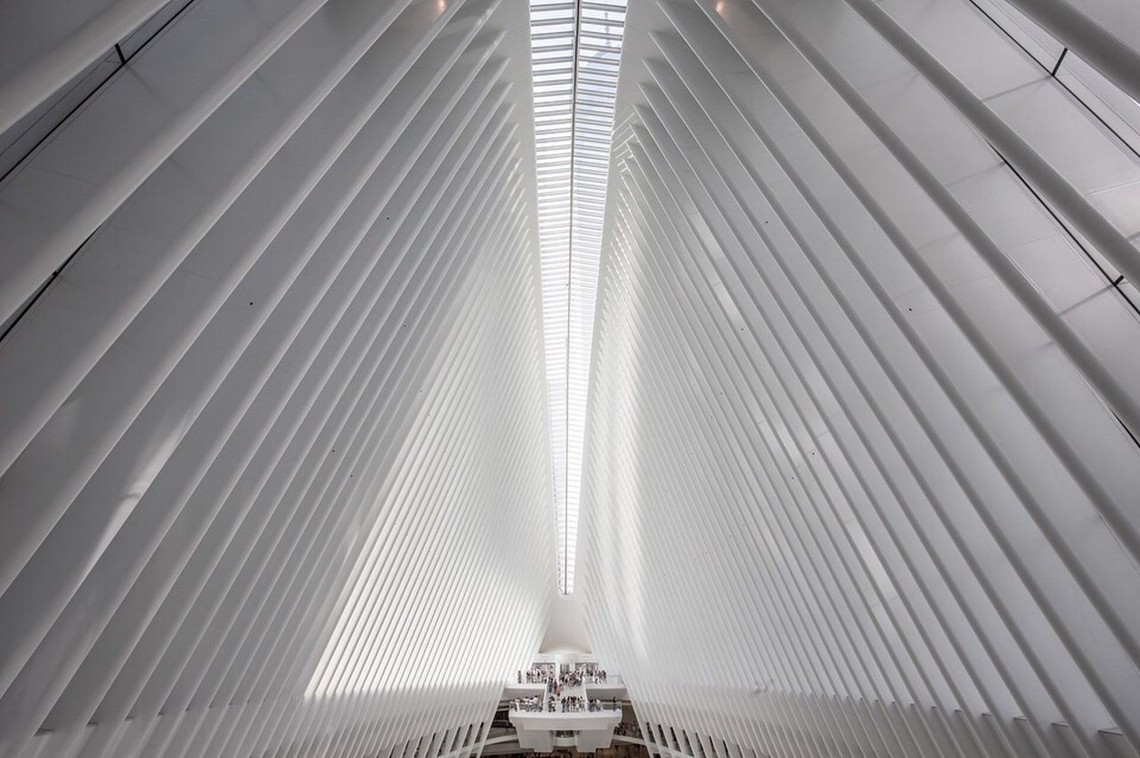 The Architect - 2017 EyeEm Awards Modern Built Structure Architecture Indoors  Low Angle View Futuristic Technology No People Day Oculus New York New York City Space Science Fiction Scifi