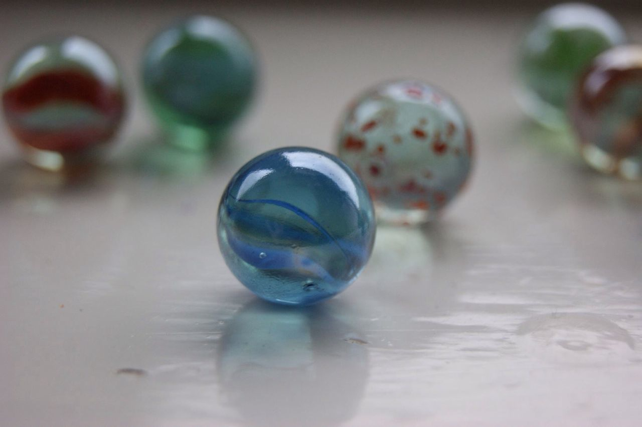 Macro Beauty Marbles Fun With Marbles
