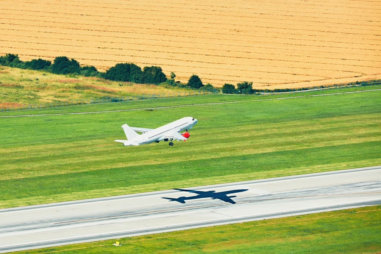 Aerial view of the airplane. Take off from the runway in Prague. Aerial Photography Aerial View Aerospace Industry Air Vehicle Aircraft Airplane AirPlane ✈ Airport Airport Runway Airportphotography Aviation Departure Field Flight Flying Journey Mid Air Plane Runway Speed Take Off Transportation Travel Traveling Trip