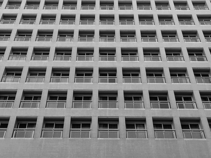 Apartment Architecture Backgrounds Building Exterior Built Structure City Close-up Day Full Frame No People Outdoors Repetition