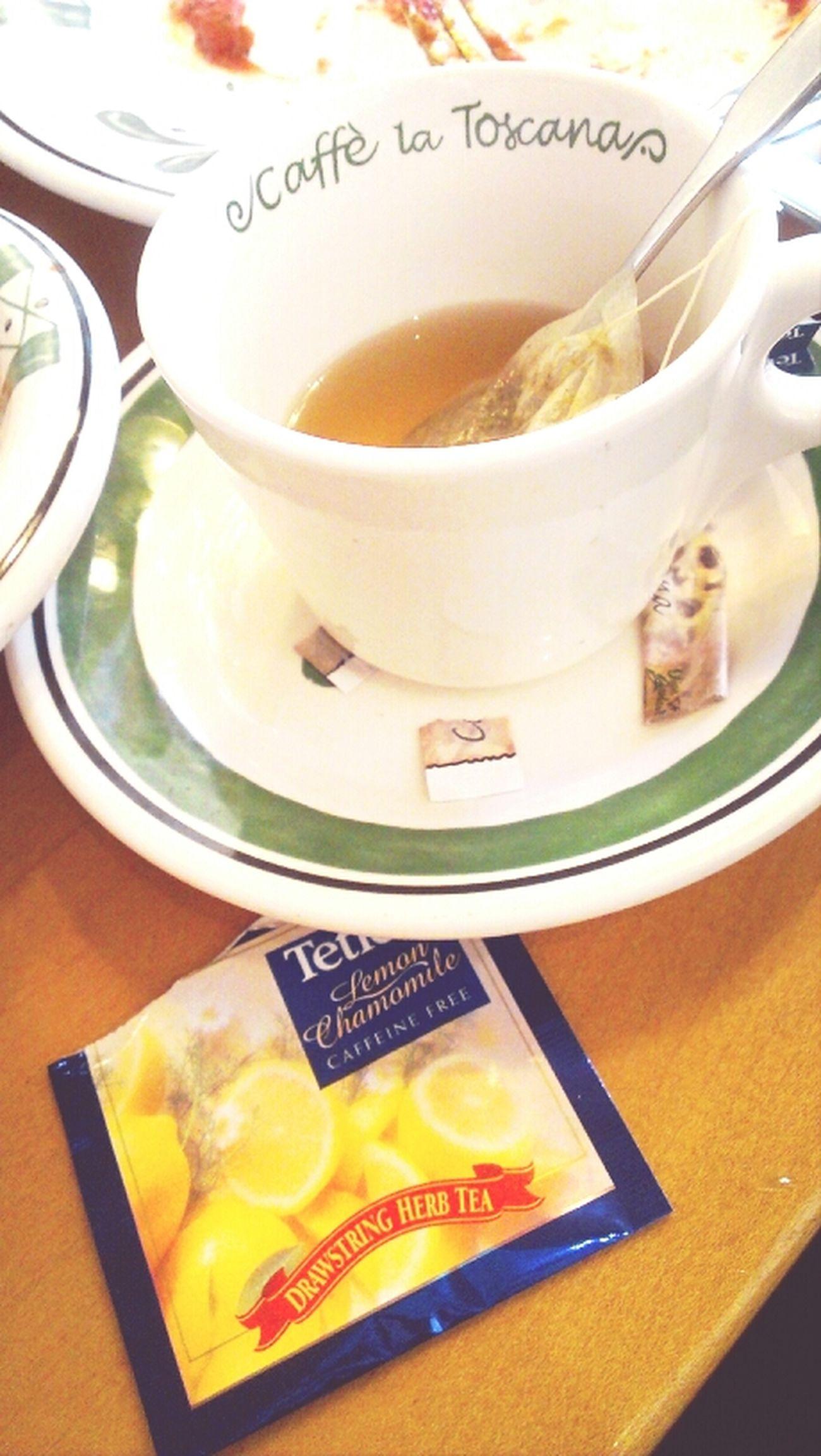 I'd rather drink tea than anything else ^.^