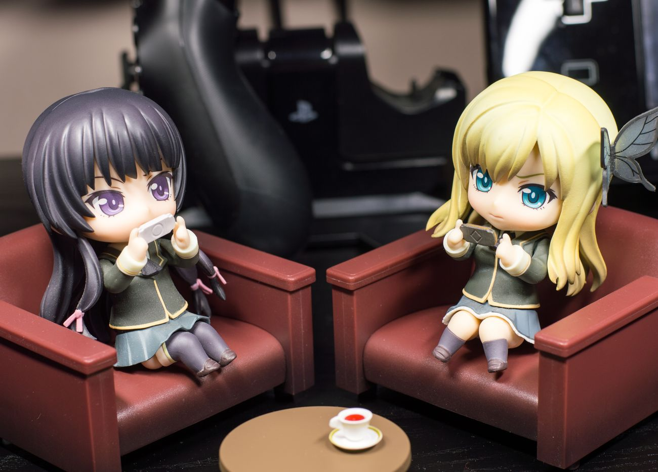 Gaming all day long Nendoroid Nendophotography Goodsmilecompany Toyphotography Figurephotography Animefigure Haganai
