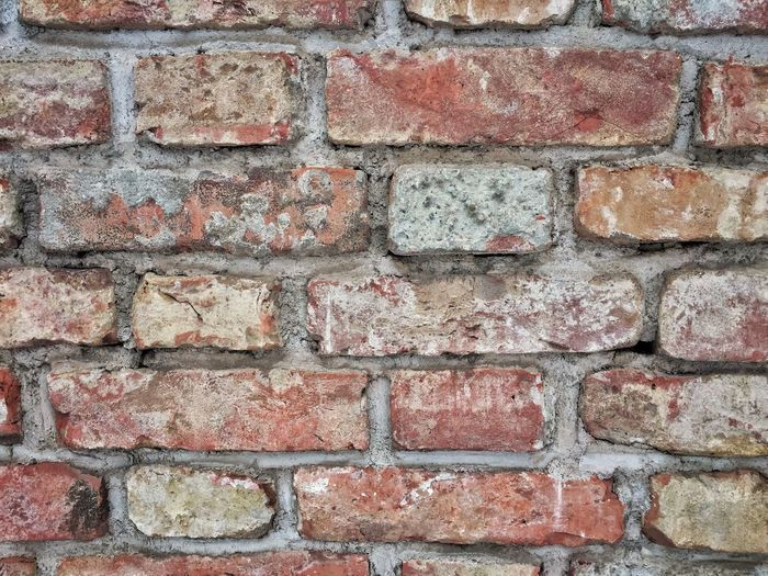 Brick Wall No People Day Architecture Built Structure Building Exterior Full Frame Outdoors Backgrounds Close-up Wall Textured  Park EyeEmNewHere