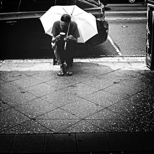 Spare a thought for those whose holiday season isn't so jolly Life People Streetphotography Street Photography Home Holiday Christmas Walking Around Taking Photos Rain