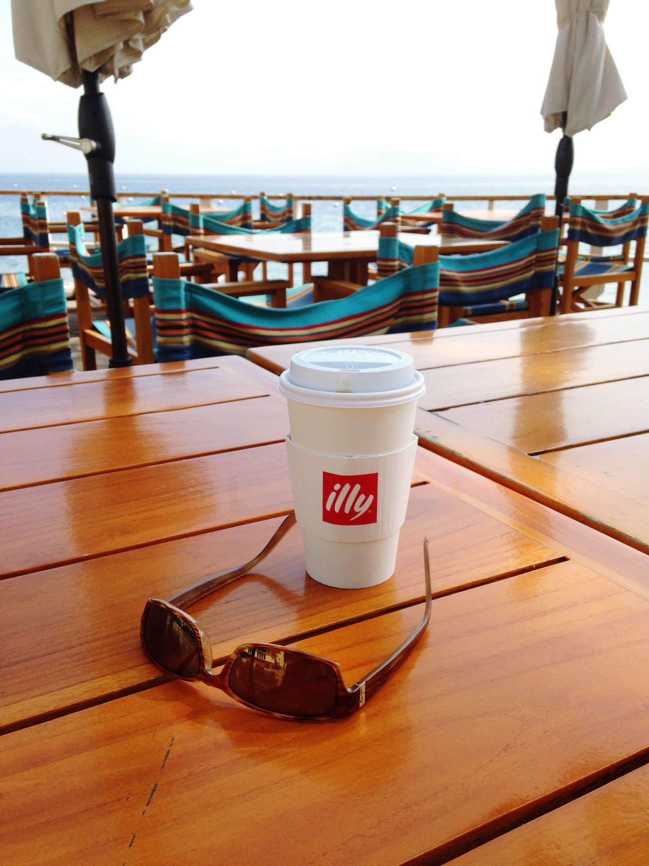 Resort Food And Drink Coffee Cup Off Season empty