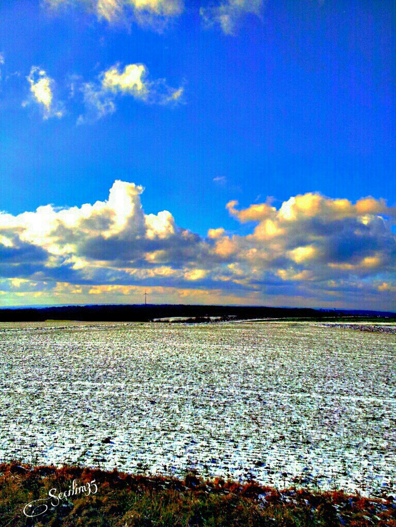 Cem Karaca-Sevda Ku§un Kanadinda Happy Weekend :) Sunset Enjoying The View Blue Germany Clouds And Sky Sky_collection Sun_collection Nature_collection