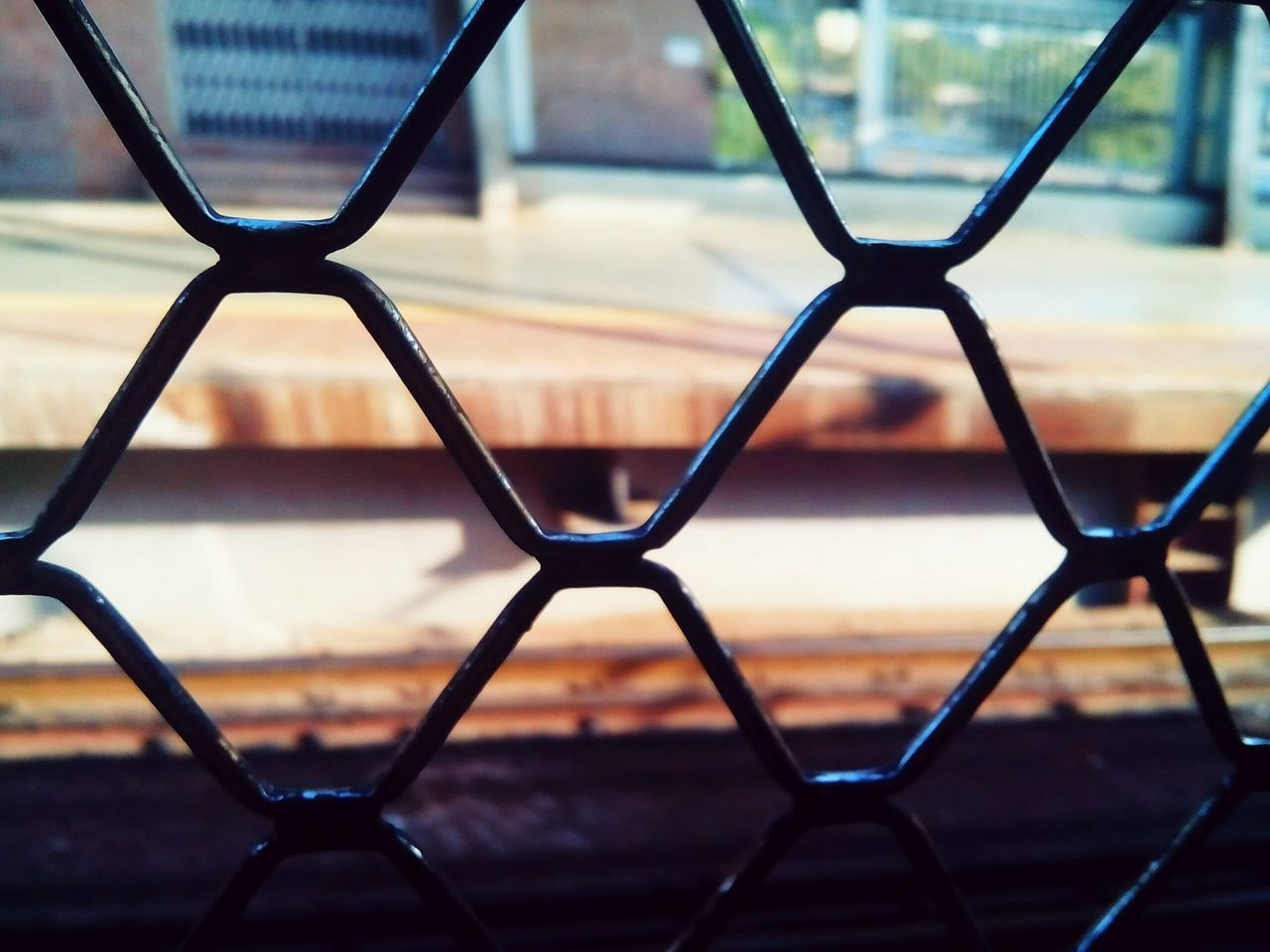 Chainlink Fence Protection Security Pattern Metal No People Focus On Foreground Outdoors Day Safety Backgrounds Photography Themes Close-up City Awesome_shots EyeEm Best Shots EyeEm Gallery Aloof Peaceful Randomshot Awesome
