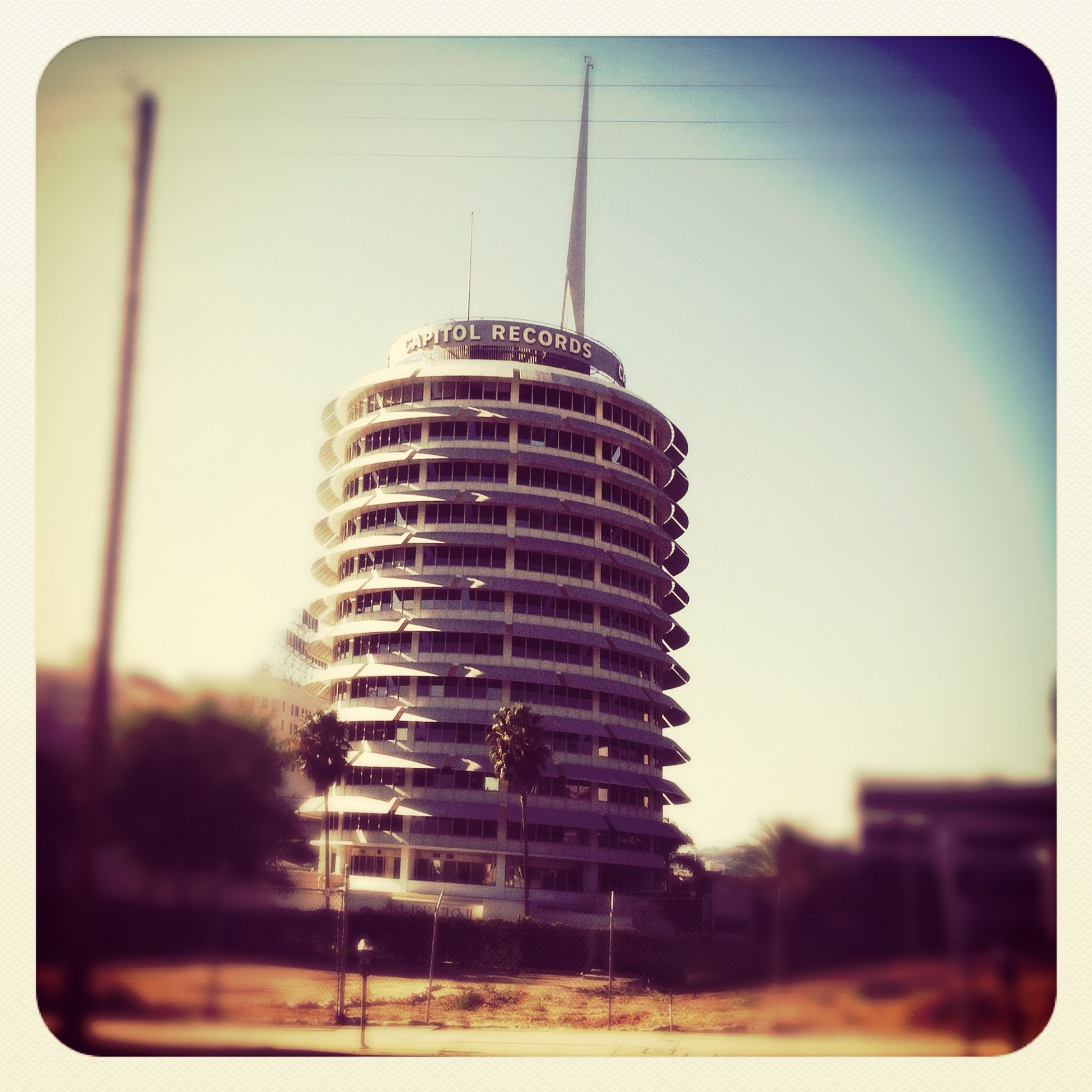 Walking around at Capitol Records Walking Around
