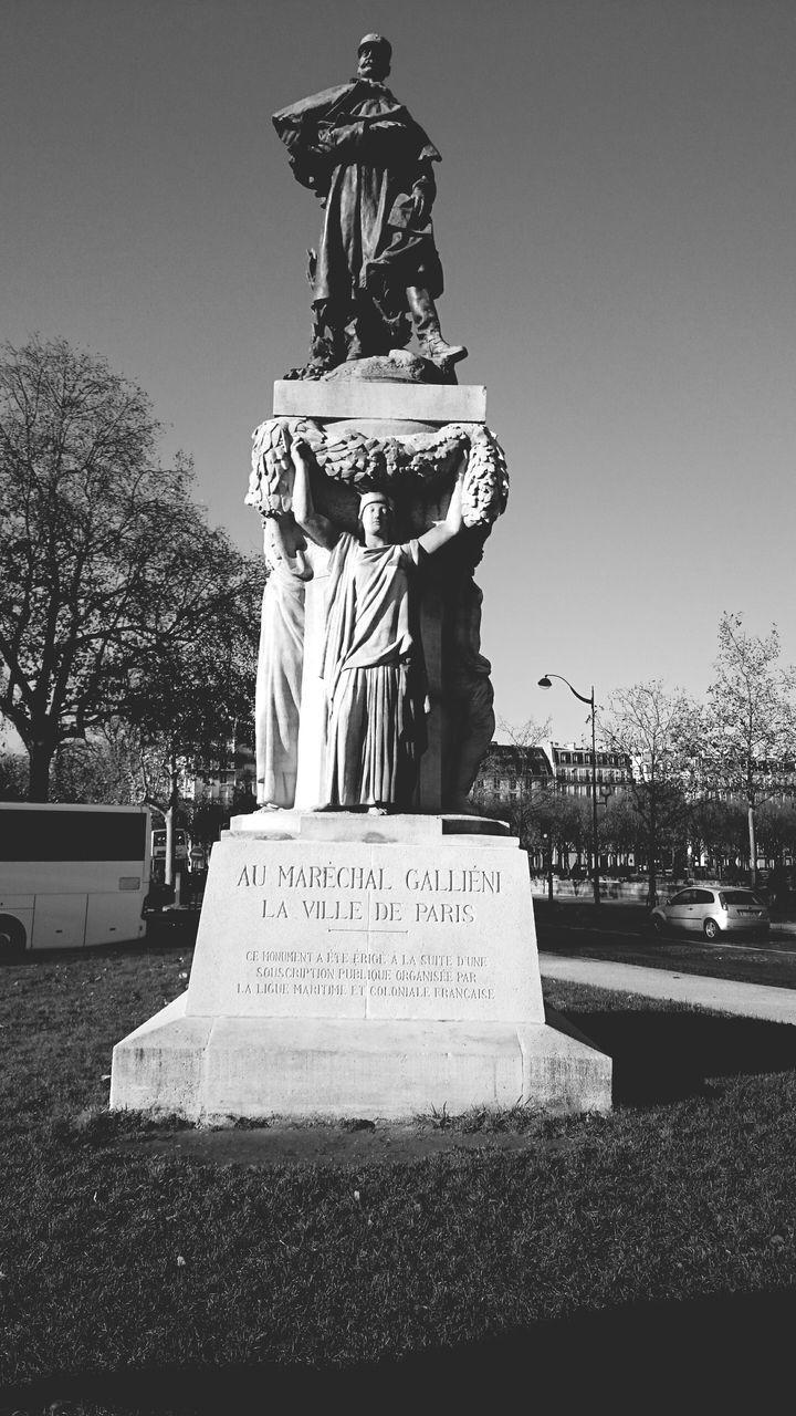 View Of Memorial Statue