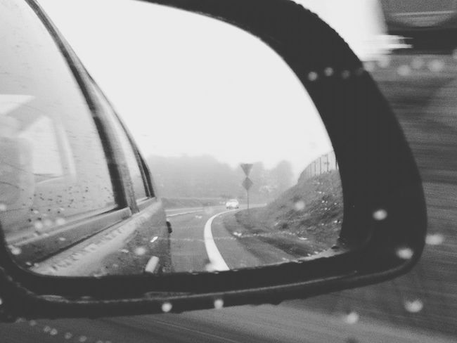 On The Road Car Ride  Rainy Days Feel So Lonely