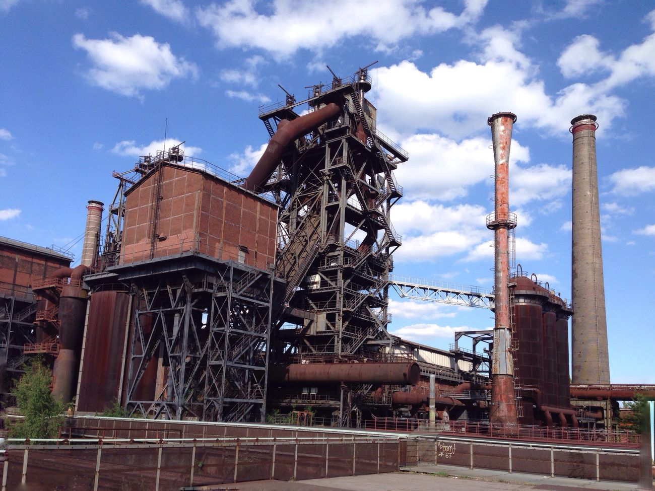 Landschaftspark Duisburg-nord Industry Industry Factory Cloud - Sky Day Built Structure Outdoors