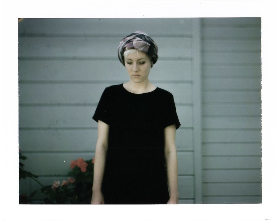 Portrait Girl Speed Graphic Fuji Fp 100C Peel Apart Film The Portraitist - 2016 EyeEm Awards