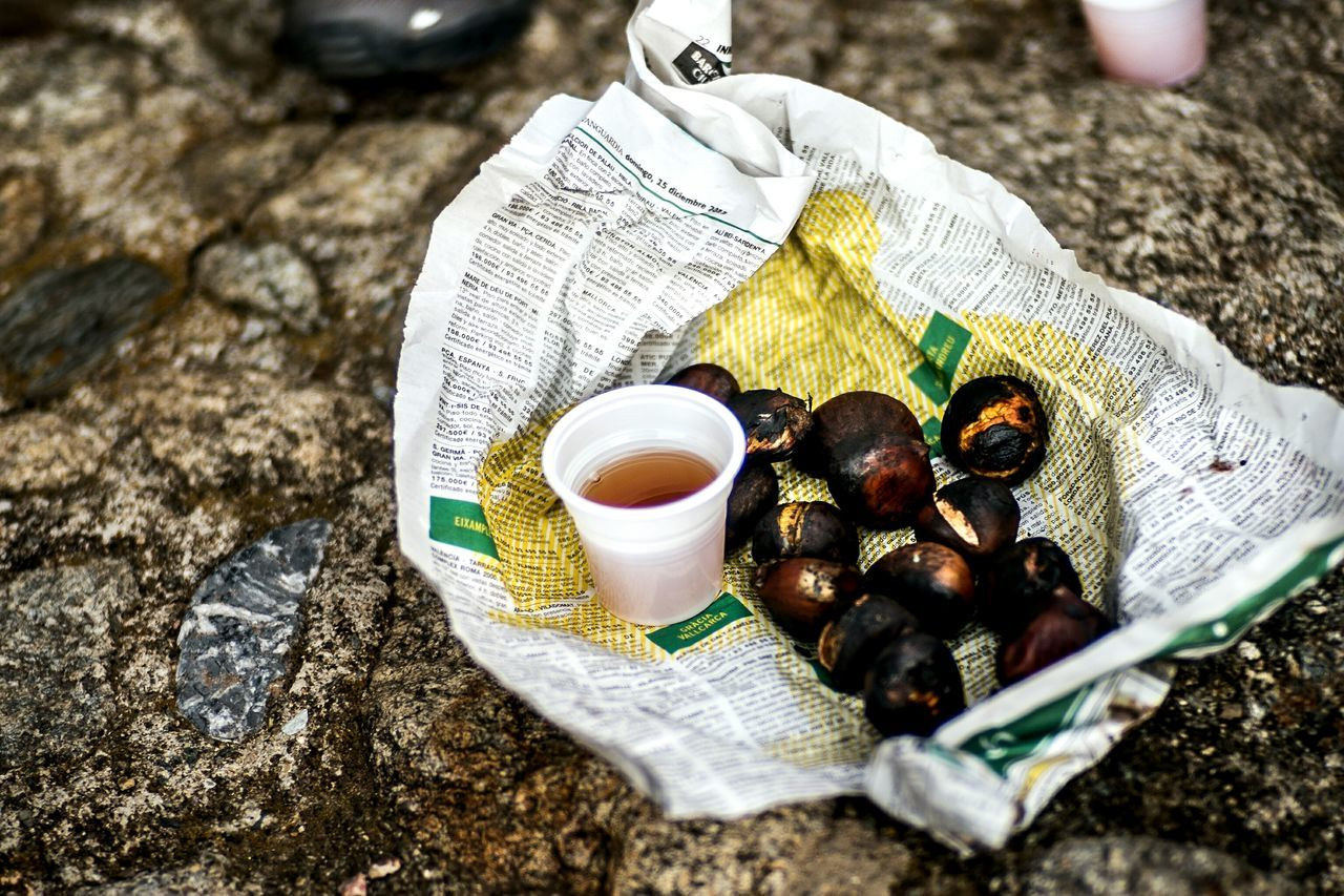 Food And Drink No People Roasted Chesnut Muscat Wine Things I See Color Open Edit Fragments Of Life Lifestyles Textures And Surfaces