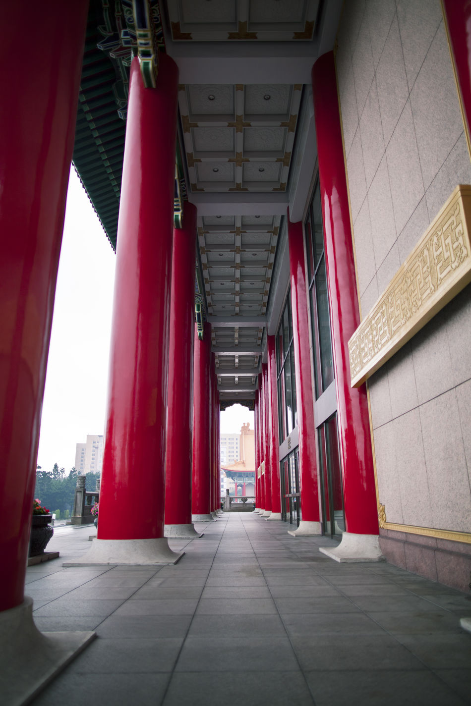 Adventure Architectural Column Architecture Built Structure Columns Day National Monument No People Outdoors Red Taiwan Tourism