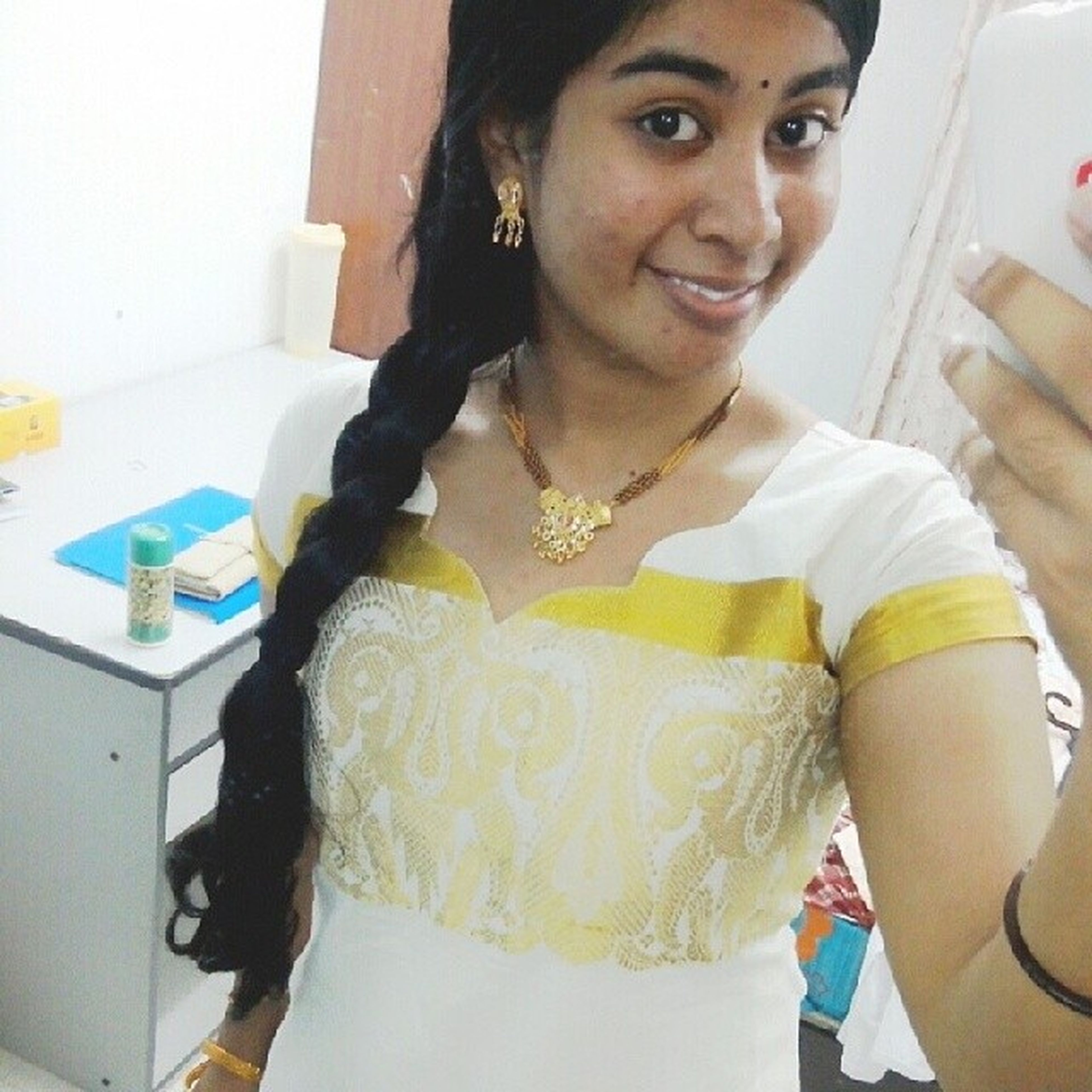 "Day 20. ""When a woman says, 'I have nothing to wear!,' what she really means is, 'there's nothing here for who I'm supposed to be today."" Dresseduppicture Latepost Temple Malayali nofilter"