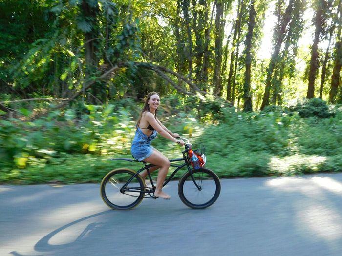 Amsterdam Vibes In Costa Rica Costa Rica Bush Biking Happy Girl
