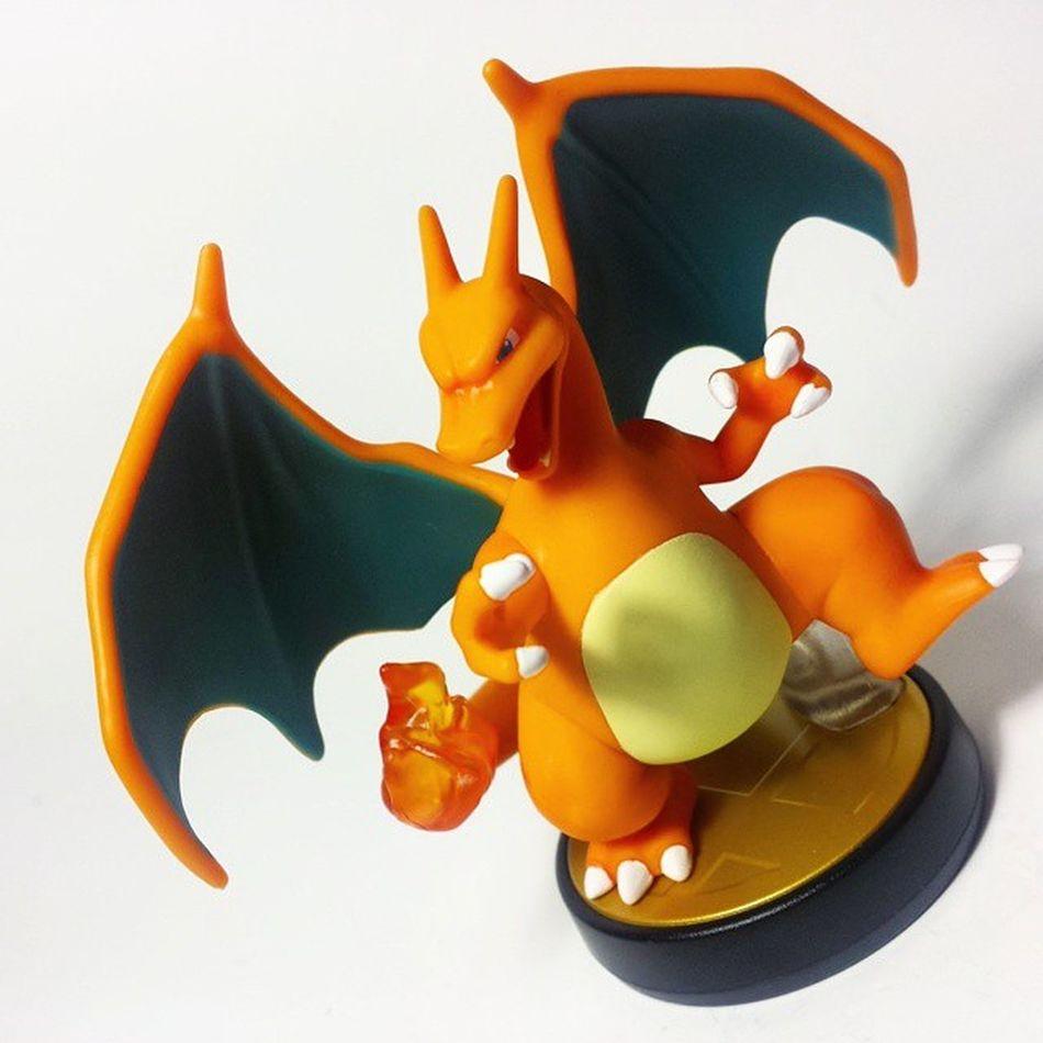 Pokémon Charizard Amiibo Nintendo SuperSmashBros Nintendofan Toys Toyphotography Toypizza Toysarehellasick Toycollector Toycommunity Toycollection