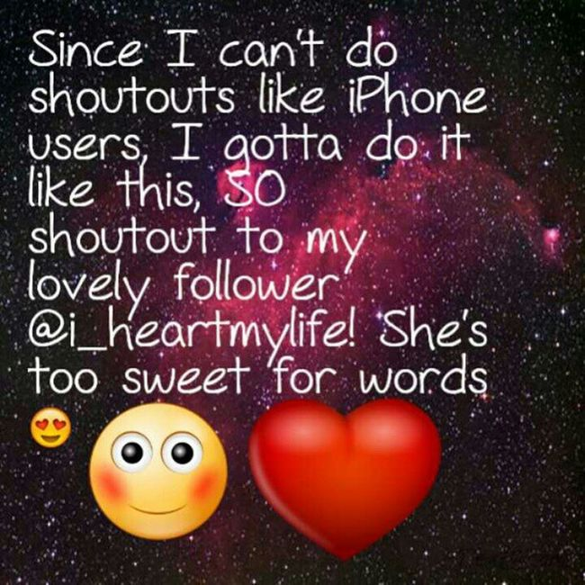 @i_heartmylife got me feeling all fuzzy and toasty inside lol thank you sweetheart Instalove IMWITDADRUMMER Shoutoutoftheday
