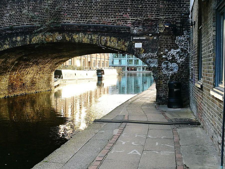 Canals And Waterways Architecture Bridge