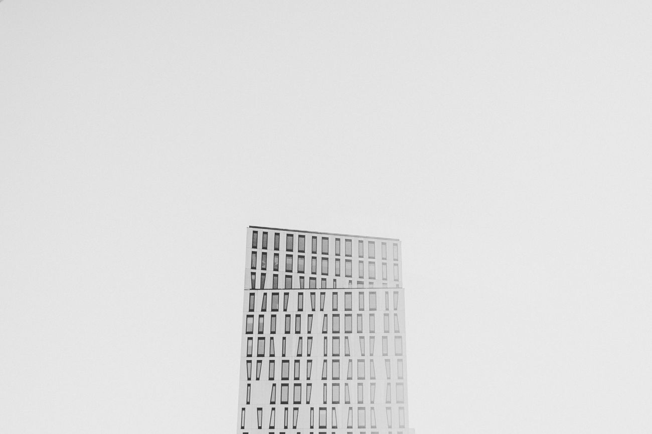 Copy Space White Background Studio Shot Architecture Clear Sky No People Building Exterior Built Structure Day Skyscraper Outdoors People Light Light And Shadow Welcomeweekly Eye4photography  First Eyeem Photo Check This Out Sky_collection Architecture Sky And Clouds Hello World EyeEm Gallery Focus On Foreground Photography Minimalist Architecture EyeEmNewHere
