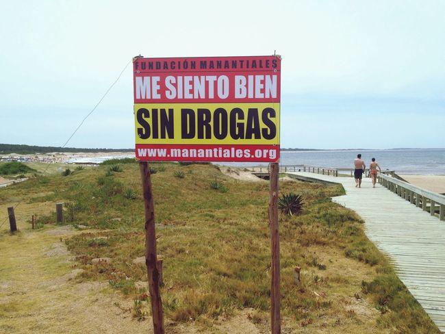 Drugs Uruguay Beach