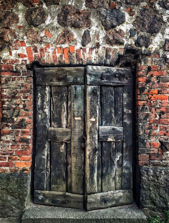 Castle Door Medieval History Architecture Symmetry