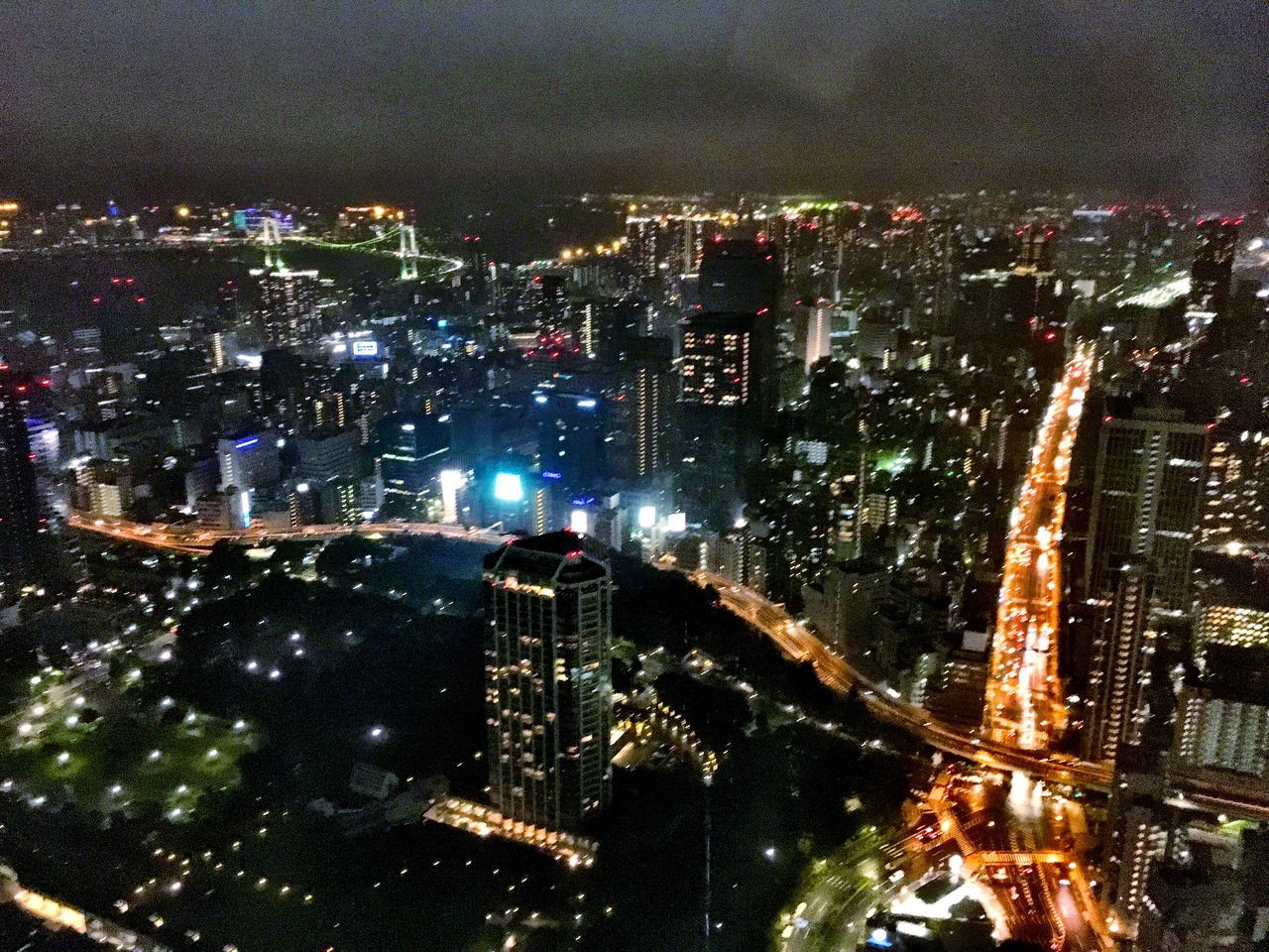 Like blood in veins Illuminated City Cityscape Architecture Night City Life Skyscraper Road Travel Destinations Tower Modern Tall - High Development Glowing Travel Photography Beautiful Tokyo 日本 東京 일본 도쿄 Japan Tokyo Tower 東京タワー