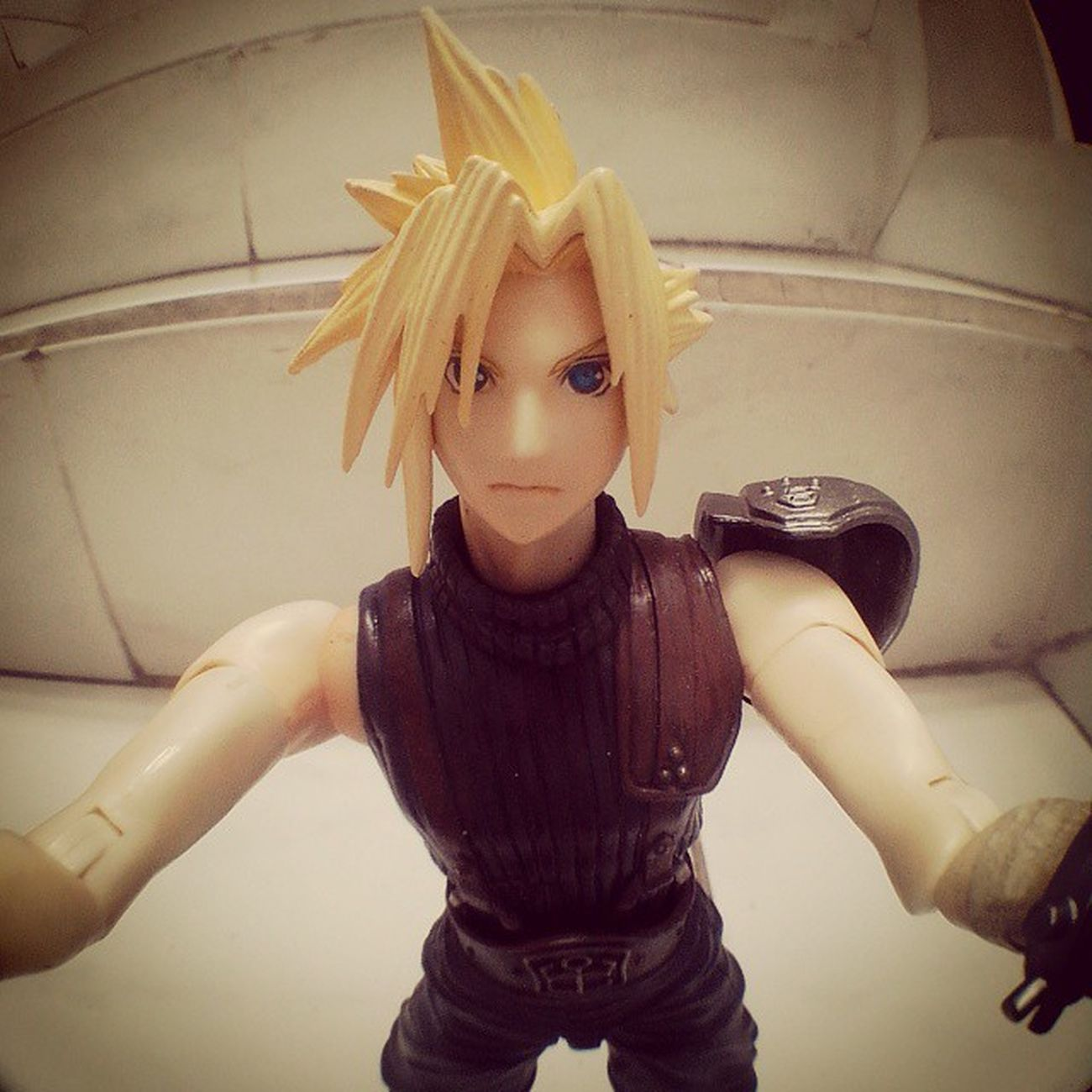 Selfie of the day :)) Cloudstrife Finalfantasy Ffvii Playarts Selfie