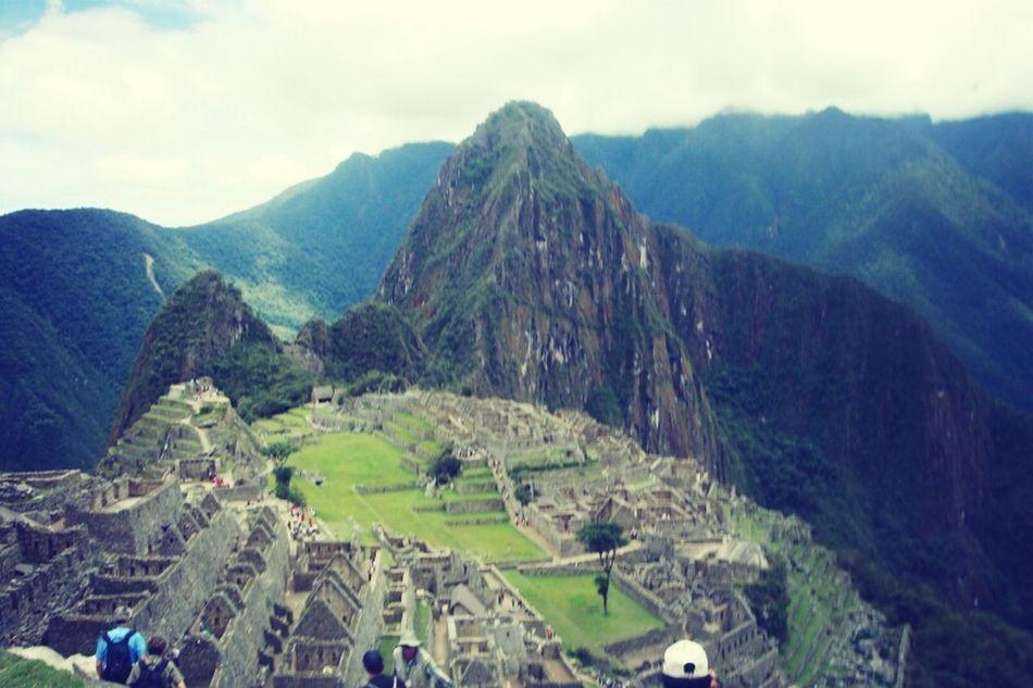 This is Perú my friends :3 Sunrise At Machu Picchu