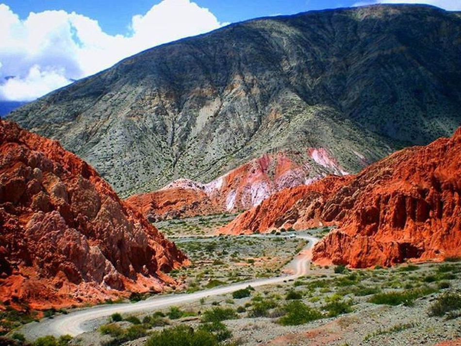 Camino a Purmamarca, Jujuy, Argentina On The Way Jujuy Argentina Norte Full Color Ruta Camino Way Highway Rute  Earthday Awesome Amazing Travel Southamerica North Landscape Paisaje Incredible Earth Panorama Valokuvaus EyeEm Best Shots EyeEm Gallery