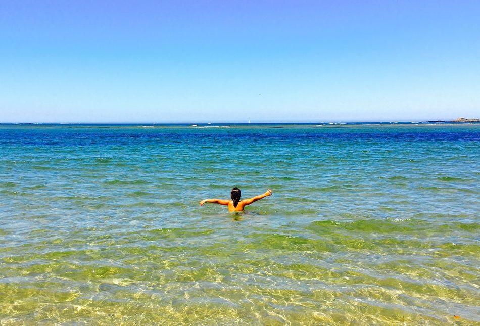 Goddaughter Beach Sea Kid Hapiness Summer Relaxing Caminha