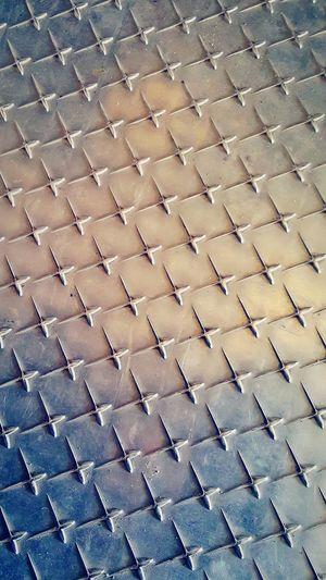Pattern No People Full Frame Teleferico Floor Flooring Metal Metal Floor Pattern Floor