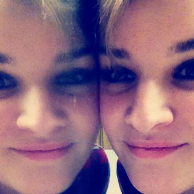 A mirror has two faces Mirror Portrait Of A Woman Portrait Of A Friend Portrait FaceShot Reflection Beutiful