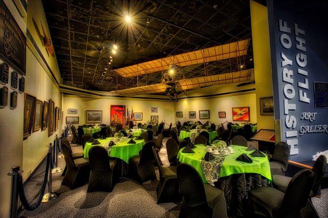 Banquet in the History of Flight Art Gallery Aurorahdr