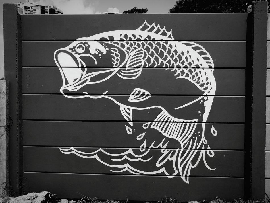 Fhish Fhising Graffiti Graffiti Art Wall Wall Art Black And White Monochrome Fine Art Photography