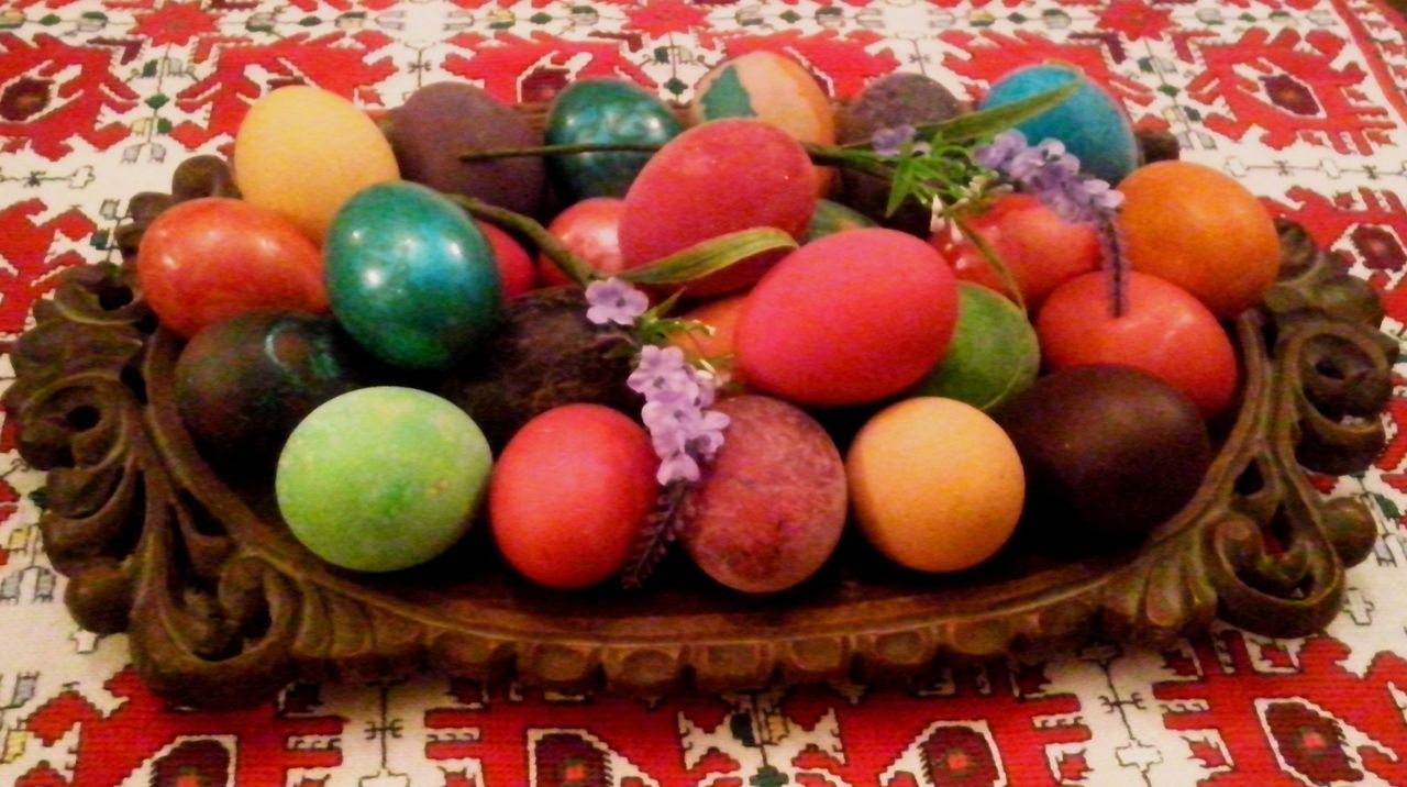 still life, food and drink, sweet food, indoors, celebration, christmas, food, table, tradition, cultures, holiday - event, easter egg, indulgence, temptation, multi colored, easter, no people, christmas decoration, close-up, dessert, freshness, day
