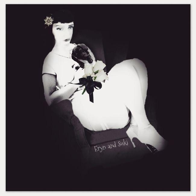 Me and my Suki. Dachshund Blackandwhite Photography Digitaledit Photoedit Timelessbeauty