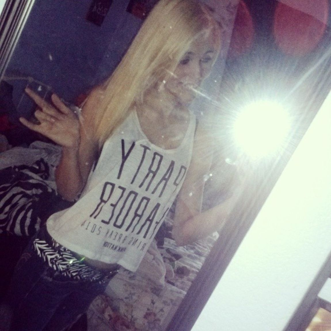The struggle you have today is a development of the strength you'll have tomorrow Believe PARTYHARDER Springbreak2014 Pinknation Victoriasecret blonde ratchet inspirational like4like fashion croptop @vspink