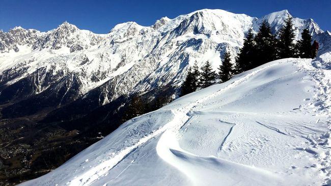 Follow the way Rule Of Thirds Landscape Montain  Montblanc Mhlchaudeurphotographies Ski Skipatrol