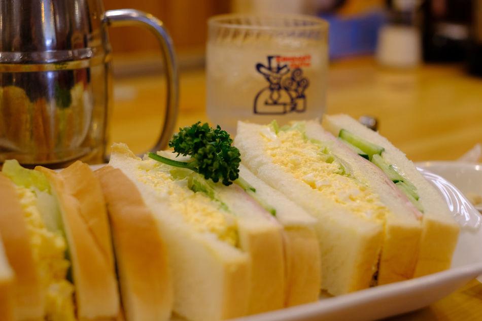 コメダ珈琲店/Komeda coffee Shop Bread Close-up Food Food And Drink Food And Drink Foodporn Healthy Eating Japan Japan Photography Ready-to-eat Sandwiches Tokyo サンドイッチ ばん 東京 錦糸町