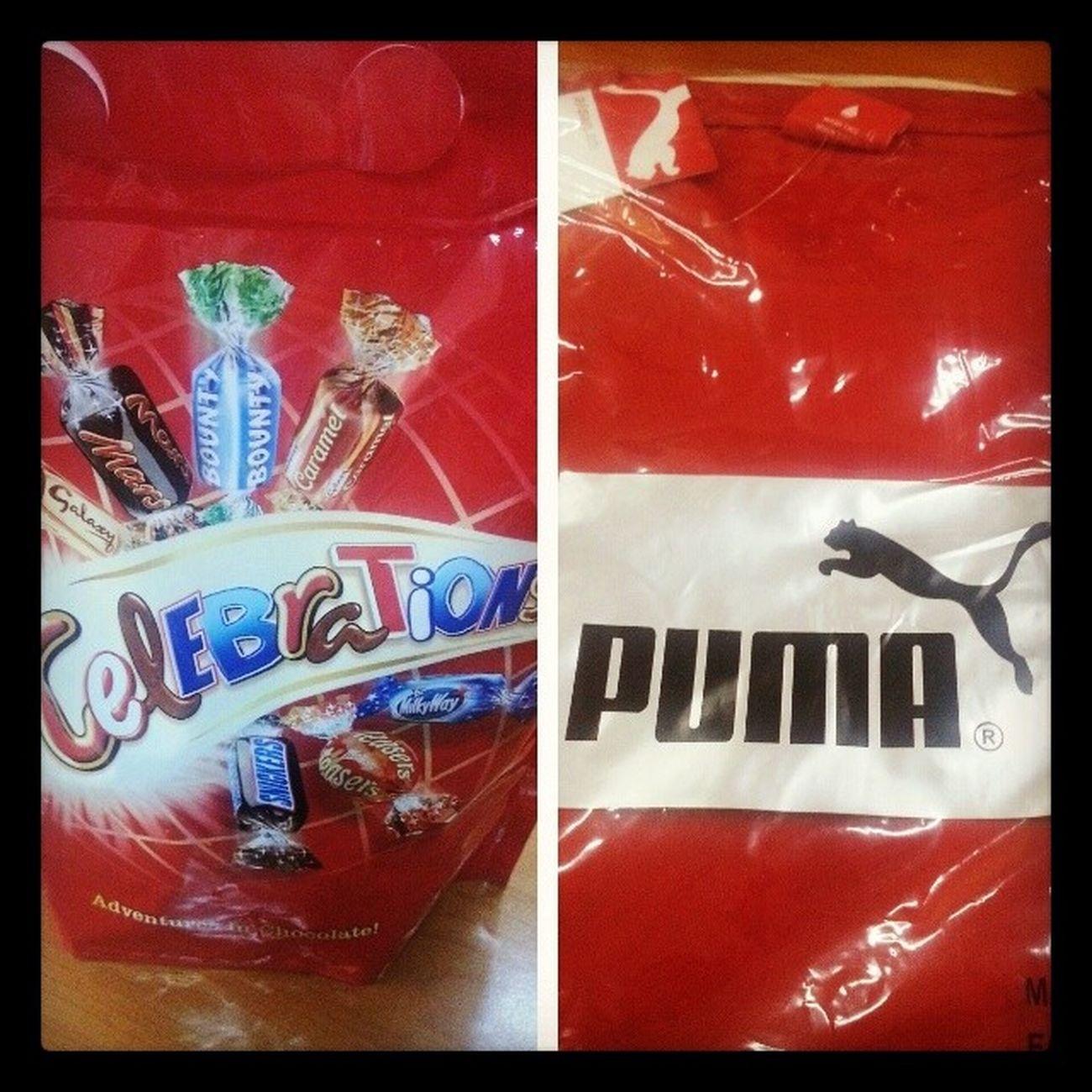 When the bosses remember you Vodafone  Runningpartner Puma