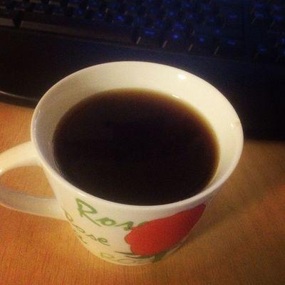 Erstmal ein Tässchen Kaffee.