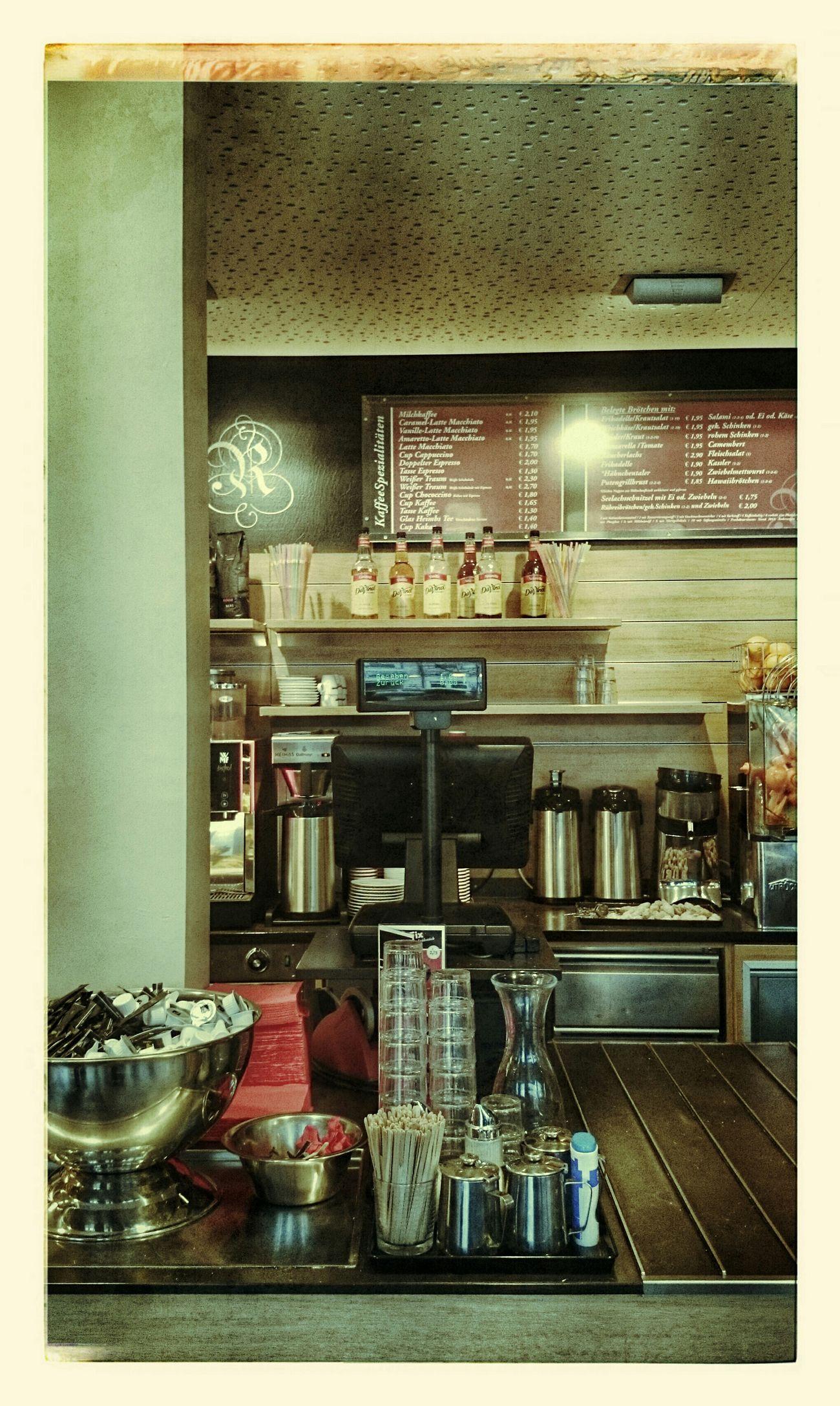 Drinking A Latte Strong Coffee Breakfast Kaffeepause Kaffeezeit