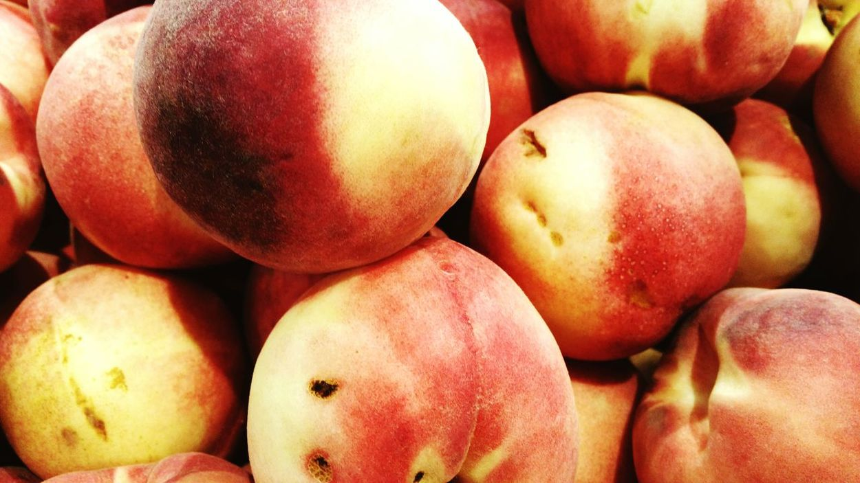 Fruits Fruit Healthy Eating Food And Drink Food Market Freshness Close-up No People Healthy Lifestyle Red Day Supermarket Indoors  Peaches Bundle